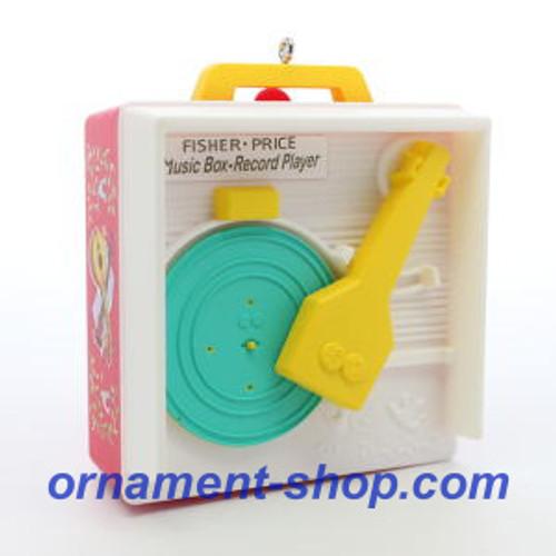 2019 Fisher Price - Music Box Record Player Hallmark ornament (QXI3389)