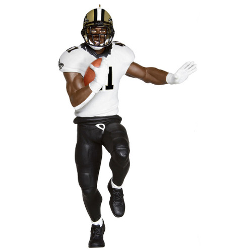 2019 Football - Alvin Kamara - New Orleans Saints Hallmark ornament (QXI3817)