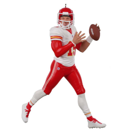 2019 Football - Patrick Mahomes II - Making the Play Hallmark ornament (QXI3879)