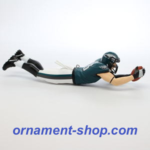 2019 Football Legends #25 - Zach Ertz - Philadelphia Eagles Hallmark ornament (QXR9467)