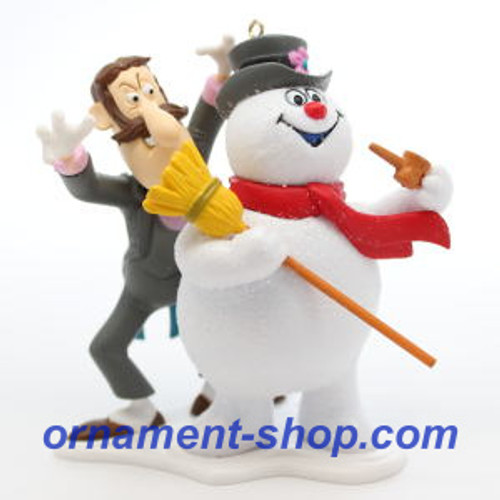 2019 Frosty the Snowman - 50th Anniversary Hallmark ornament (QXI3237)