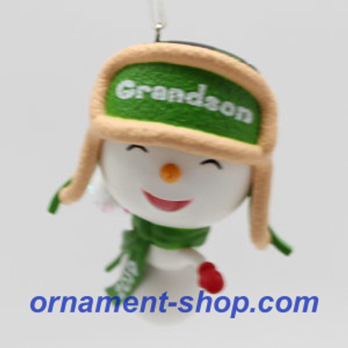 2019 Grandson Hallmark ornament (QGO2089)