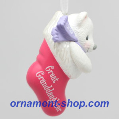 2019 Great-Granddaughter Hallmark ornament (QGO2099)