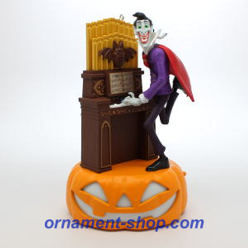 2019 Halloween - Monster Mash Collection - Dracula on Organ Hallmark ornament (QFO5267)