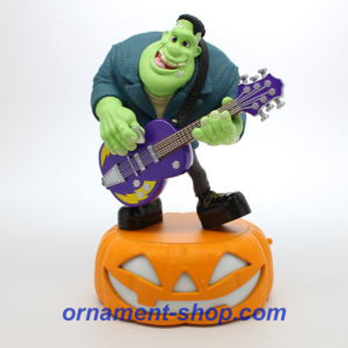 2019 Halloween - Monster Mash Collection - Frank on Guitar Hallmark ornament (QFO5259)