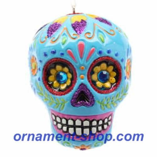 2019 Halloween - Spooky Sugar Skull Hallmark ornament (QFO5277)