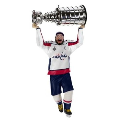 2019 Hockey - Alex Ovechkin - Washington Capitals Hallmark ornament (QXI3849)