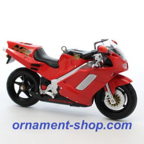 2019 Honda Motorcycle - 1992 NR750 Hallmark ornament (QXI3407)