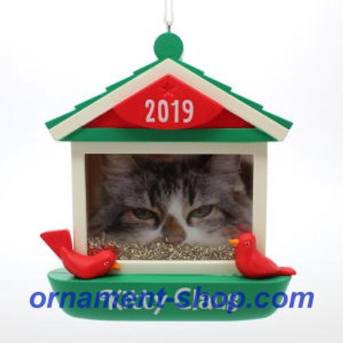 2019 Kitty Claus - Photo Holder Hallmark ornament (QGO2069)