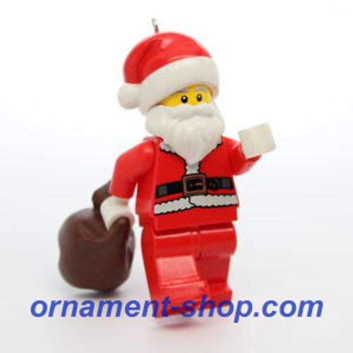 2019 Lego - Santa Claus Hallmark ornament (QXI3749)