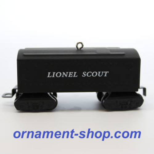 2019 Lionel - 1001T Scout Tender Hallmark ornament (QXI3467)