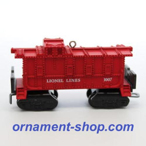 2019 Lionel 1007 - Caboose Hallmark ornament (QXI3469)