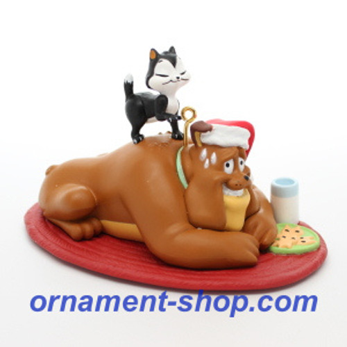 2019 Looney Tunes - A Kitty for Christmas Hallmark ornament (QXI3299)