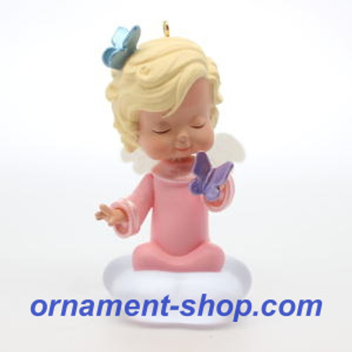 2019 Mary's Angel #32 - Hyacinth Hallmark ornament (QXR9009)