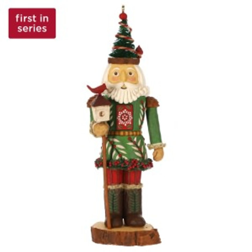 2019 Noble Nutcrackers #1 - Prince of the Forest Hallmark ornament (QXR9447)