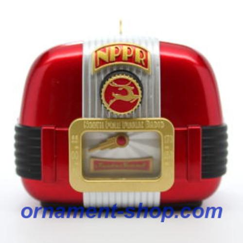 2019 North Pole Public Radio Hallmark ornament (QGO2177)