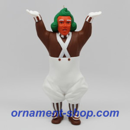 2019 Oompa-Loompa - Willy Wonka Hallmark ornament (QXI3379)