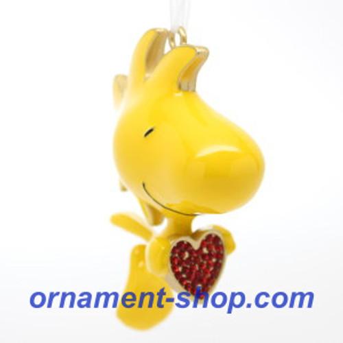 2019 Peanuts - For the Love of Woodstock Hallmark ornament (QXI3769)