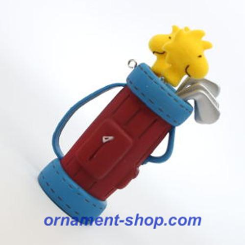 2019 Peanuts - Golfing with Woodstock - Ltd Hallmark ornament (QXE3207)