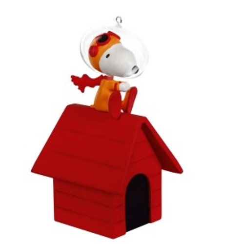 2019 Peanuts - The Flying Ace Goes to Space! Hallmark ornament (QXI3767)