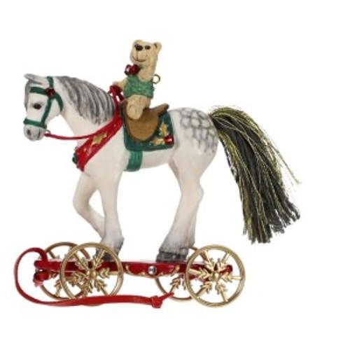 2019 Pretty Pony for Christmas Hallmark ornament (QK1259)