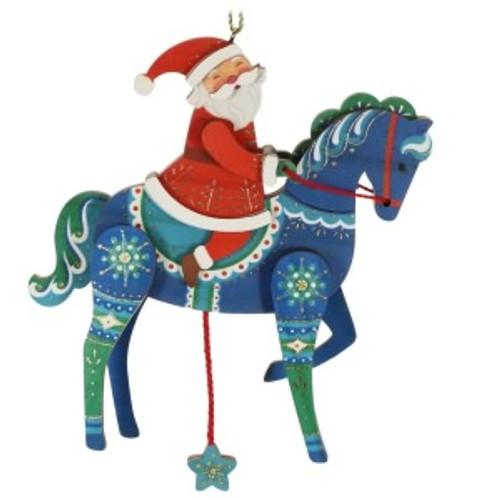 2019 Pull-String Horse Hallmark ornament (QK1229)