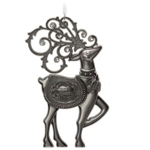 2019 Regal Deer Hallmark ornament (QGO2017)
