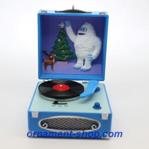 2019 Rudolph - A Holly Jolly Christmas - Record Player Hallmark ornament (QXI3757)