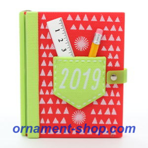 2019 School Days - Photoholder Hallmark ornament (QGO2467)