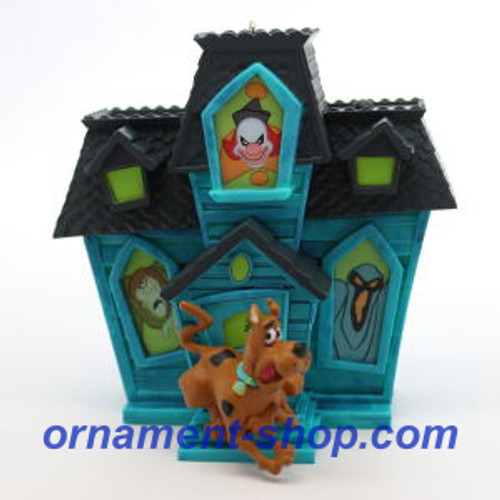 2019 Scooby Doo - Haunted House Hijinks Hallmark ornament (QXI3337)