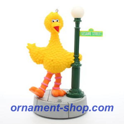 2019 Sesame Street - Celebrating 50 Years - Big Bird Hallmark ornament (QXI3727)