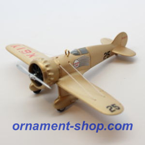 2019 Sky's the Limit #23 - Wedell-Williams Model 44 Hallmark ornament (QXR9437)