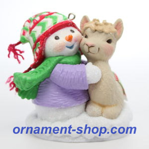 2019 Snow Buddies #22 - Alpaca Hallmark ornament (QXR9037)