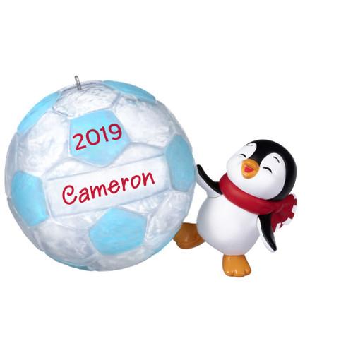 2019 Soccer Star Hallmark ornament (QGO2217)
