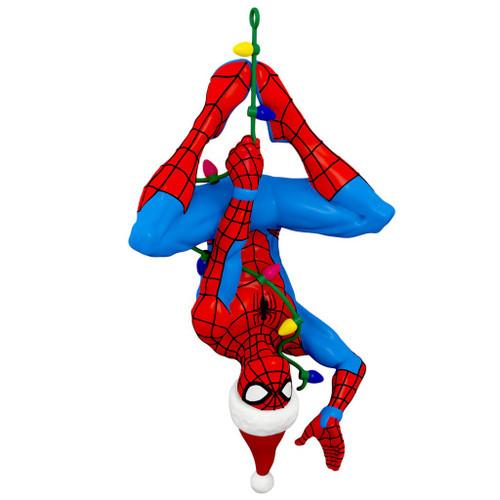 2019 Spider-man - Here Comes Spidey Claus - Spider-Man Hallmark ornament (QXI3867)