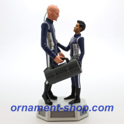 2019 Star Trek - Commander Saru and Michael Burnham Hallmark ornament (QXI3657)
