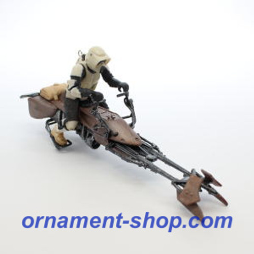 2019 Star Wars - A Wild Ride on Endor - Return of the Jedi Hallmark ornament (QXI3619)