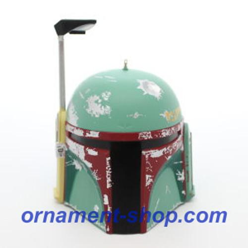 2019 Star Wars - Boba Fett Helmet Hallmark ornament (QXI3629)