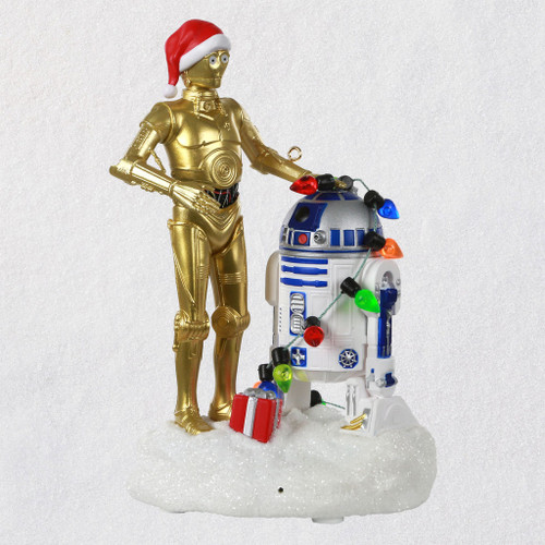 2019 Star Wars - C-3PO and R2-D2 Peekbuster Hallmark ornament (QXI3827)