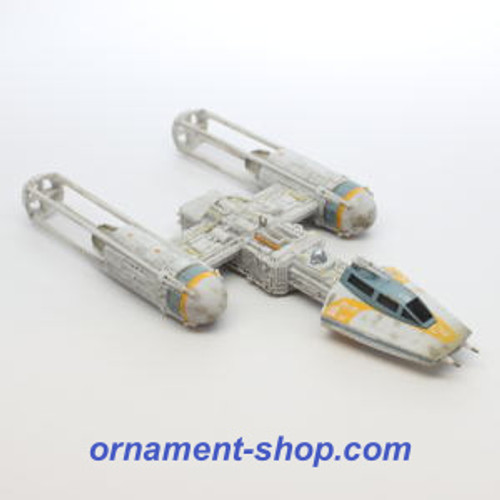 2019 Star Wars - Storyteller - Y-Wing Starfighter Hallmark ornament (QXI1027)