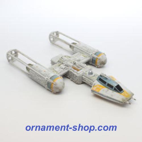 2019 Star Wars - Storyteller - Y-Wing Starfighter Hallmark ornament (QXI1027)