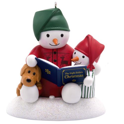 2019 Story Time Snowman Hallmark ornament (QGO2447)