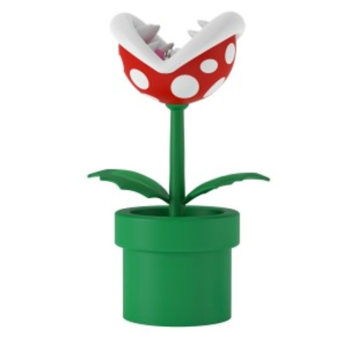 2019 Super Mario - Piranha Plant - Ltd Hallmark ornament (QXE3709)