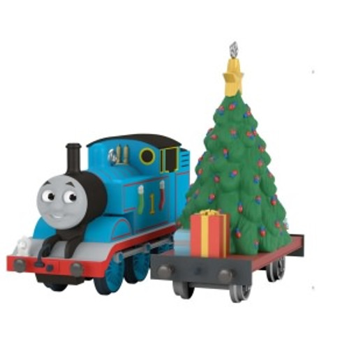 2019 Thomas the Tank Engine - A Tree for Thomas Hallmark ornament (QXI3387)