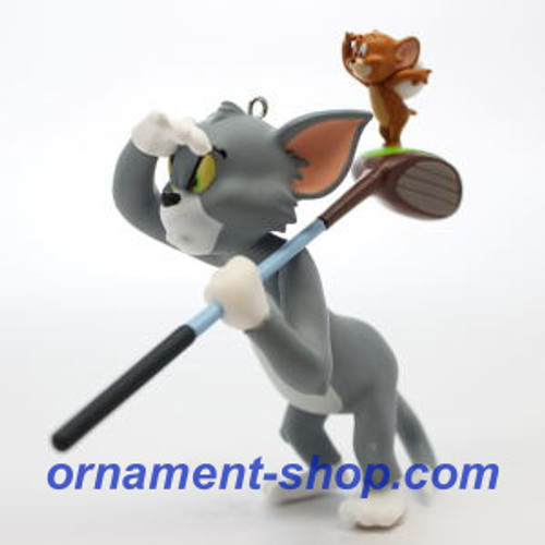 2019 Tom and Jerry - Tee for Two Hallmark ornament (QXI3357)