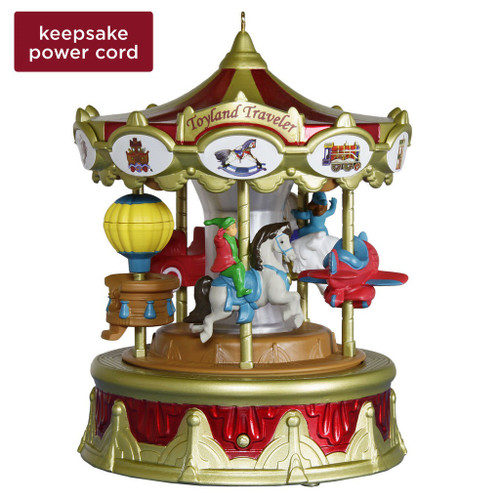 2019 Toyland Traveler - 2nd in Cmas Carnival Hallmark ornament (QXR9159)