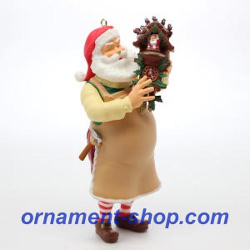2019 Toymaker Santa #20 - Cuckoo Clock Hallmark ornament (QXR9067)