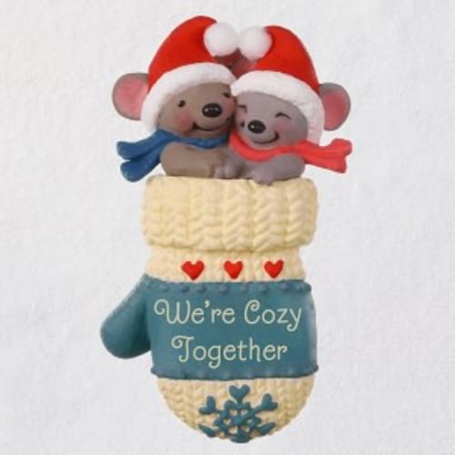 2019 We're Cozy Together Hallmark ornament (QGO2377)