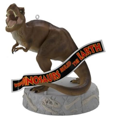 2019 When Dinosaurs Ruled the Earth - Jurassic Park Hallmark ornament (QXI3699)