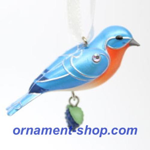 2019 Beauty of Birds - Eastern Bluebird - Miniature Hallmark ornament (QXM8309)